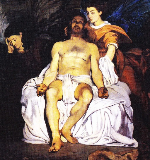Iisus-si-ingerii-edouard-manet