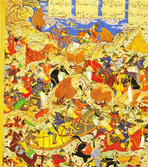 armata timur vs armata nasir-ad-din-faraj
