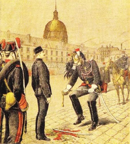 Alfred Dreyfus - tablou a degradarii publice