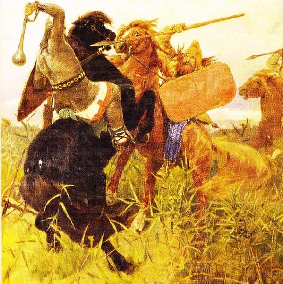 Lupta Scitilor cu Slavii - Vasnetov