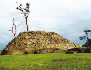 Ruinele orasului antic Lubaantun