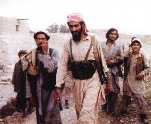 Osama Bin Laden cu ostasii sai (Anii 80)