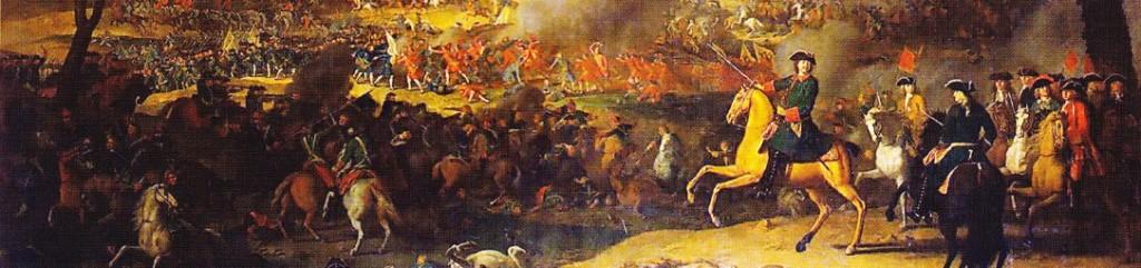 Lupta de la Poltava - tablou