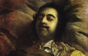 Petru cel Mare pe patul de moarte
