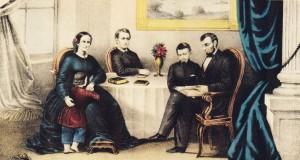 Portret de Familie - la Abraham Lincoln acasa