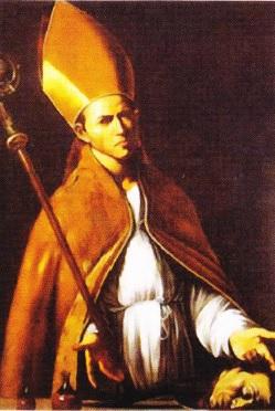 Sfantul Ianuarie (pictura de M. Caravaggio. 1607)