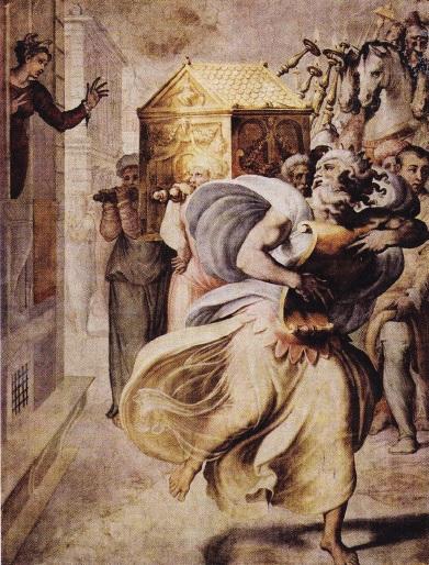 david-dansand-in-fata-chivotului-legii-de-francesco-salviati-1552-1554