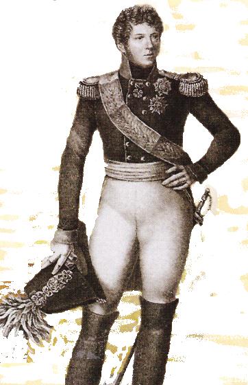 Ducele Friedrich Karl Ludwig, presupusul tata al lui Kaspar Hauser