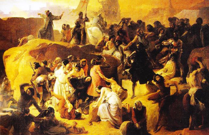 francesco-hayez-cruciatii-in-apropiere-de-ierusalim-1836-1850