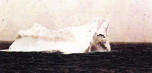 Icebergul ce a scufundat Titanicul