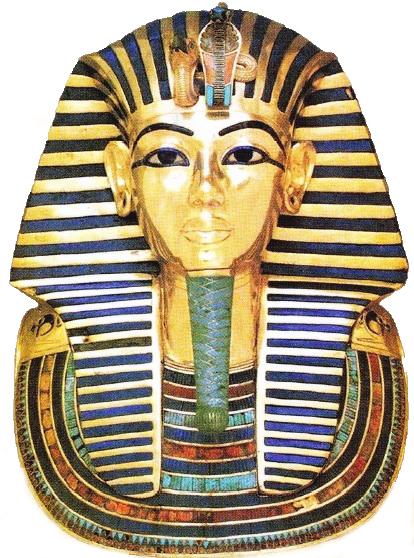 Masca de aur a lui Tutankhamon
