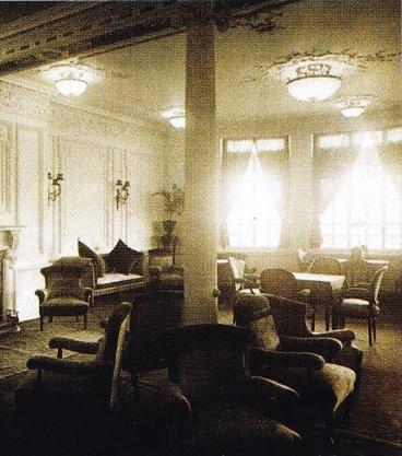 Titanicul pe Interior (Fotolii si Mese)