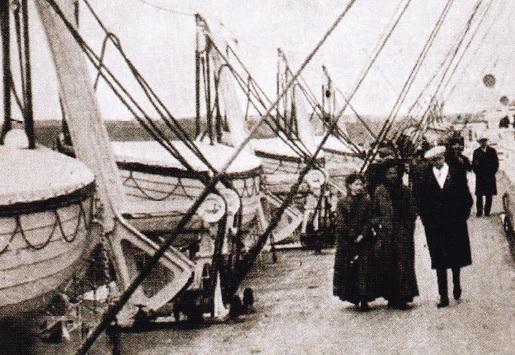 Puntea cu Barci a Titanicului