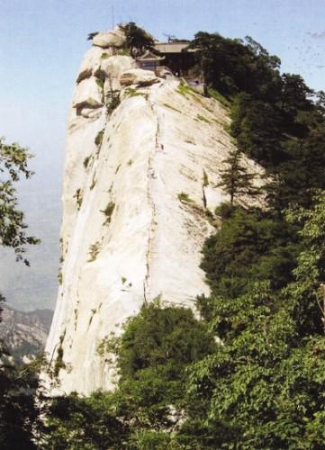 Cale de acces pe Muntele Huangshan