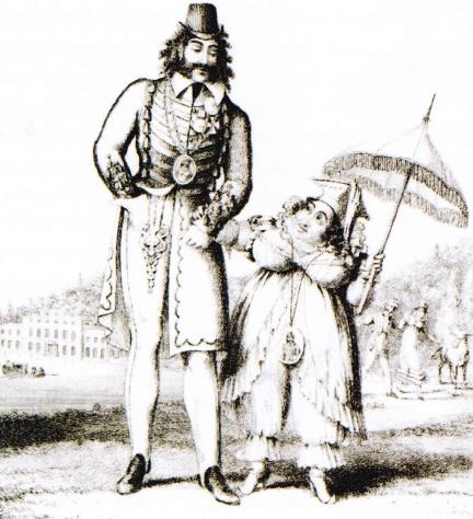 Caroline si Pergam Bartolomeo - Caricatura