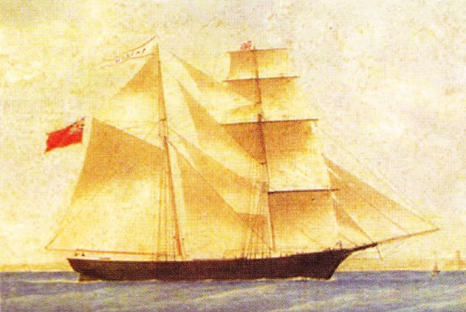 "Vasul disparut ""Mary Celeste"""