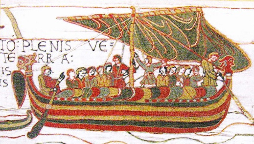Corabie vikinga (pictura Islanda)