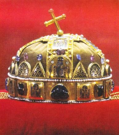 Coroana Sfantului Stefan. Sfanta coroana a Ungariei