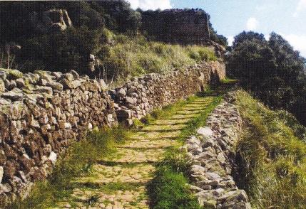 drum roman pe insula Menorca