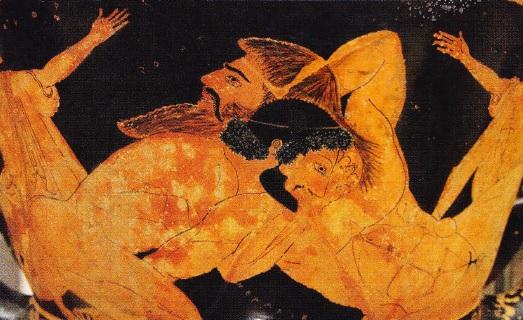 Hercule si Antreu. Anii 515-510 I. Hr