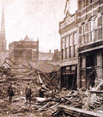 Ruperea Digului South Fork din Orasul Johnstown