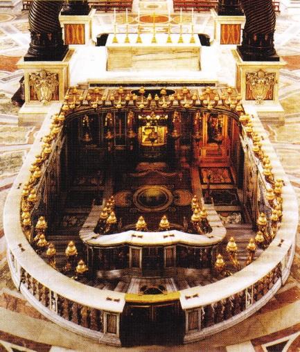 Locul de confesiuni a Sfantului Petru
