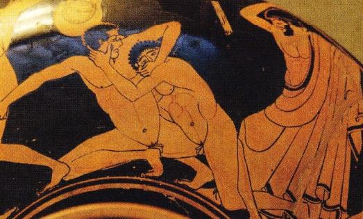 pedepsirea jucatorilor in timpul jocurilor olimpice antice