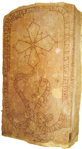Piata pe mormantul unui viking mort in lupta