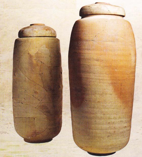Ulcioarele de ceramică unde erau păstrate sulurile