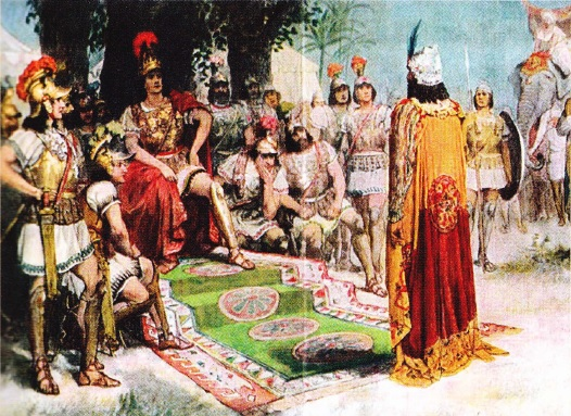 Alexandru cel Mare si regele Pora