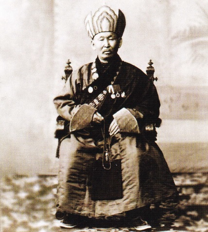 Hambo Dashi Dorzho Itigilov pe cand era in viata