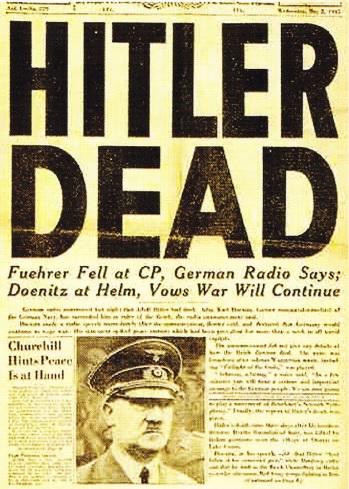 Prima pagina a ziarului de pe front al armatei americane de pe 2 Mai 1944