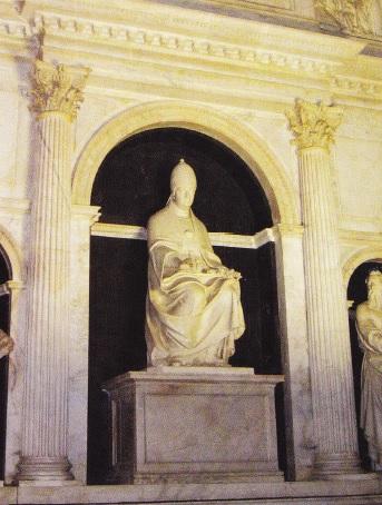 Monument dedicat Papei Leon al X-lea
