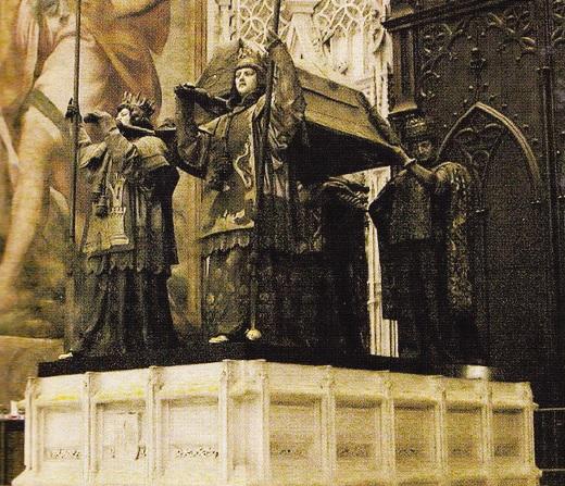 Mormântul lui Columb, în Sevilla