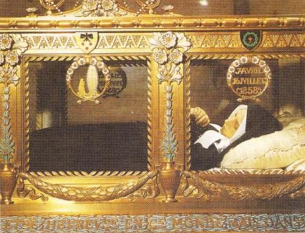 Sarcofagul Sfintei Bernadette