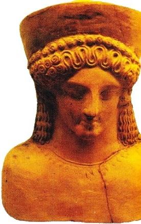 Sculptură în teracotă. Cartagina
