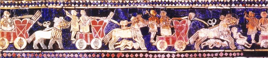 Standard de lupta din mormantul regal din Ur