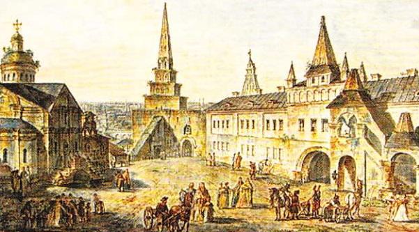 Clădirile-dispărute-ale-Kremlinului-Biserica-Sf-loan-Botezătorul