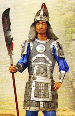 soldat-chinez-din-fortul-jiayuguan