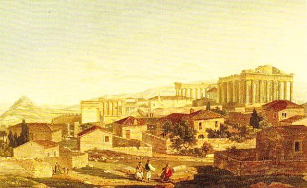 Acropola - Edward Dodwell (1821)