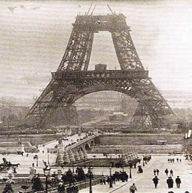 Turnul Eiffel - Istoria Constructiei
