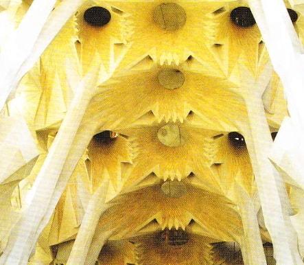 Sagrada Familia. Incinta.