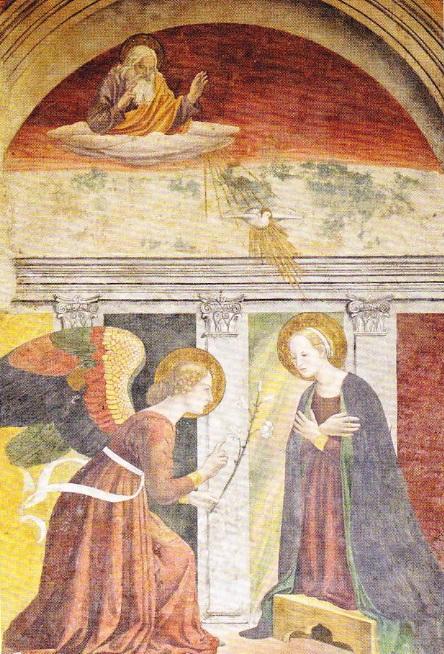 pictura-buna-vestire-panteon-roma-sec-XV