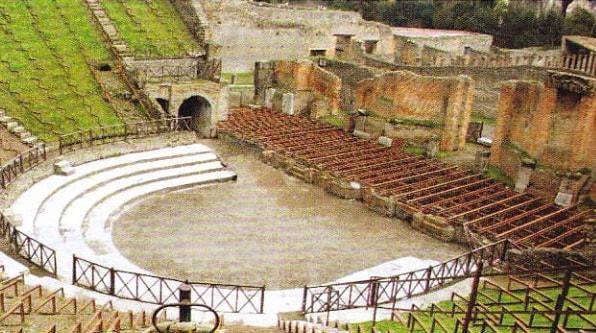 Teatrul Mare din Pompei
