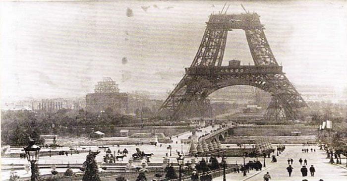 Constructia turnului. lunie, anul 1888