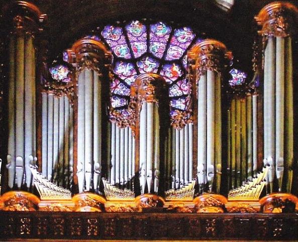 Orga din Notre-Dame de Paris