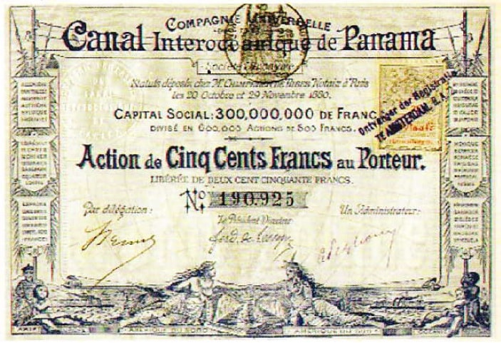 Actiune Canal Panama