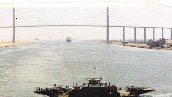 Canalul Suez - Zilele noastre