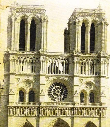 Catedrala Notre-Dame din Paris (Exterior)