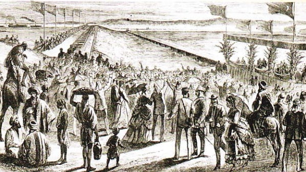 Deschiderea canalului Suez (1869)